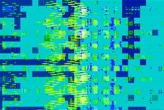 Skärm för tekniskt fel för Digital oväsenbakgrund, abstrakt distorsion vektor illustrationer