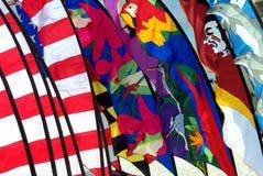 skärmflaggor Arkivfoto