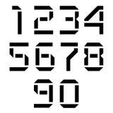 skärmnummer Arkivfoton
