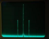 skärmwaveforms royaltyfria foton