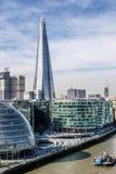 Skärvan, den mest högväxta byggnaden i London arkivfoton