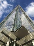 Skärvan, London under blå himmel Arkivfoton