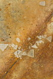 Skärvor av brutet exponeringsglas Arkivbilder