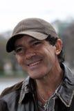 Skådespelare och sångare Antonio Banderas royaltyfria foton