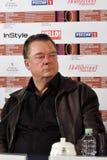 Skådespelare Peter Kurh på den 40th MoskvaInternationalfilmfestivalen Royaltyfria Foton