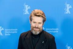 Skådespelare Willem Dafoe på Berlinale 2018 Royaltyfri Foto