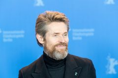 Skådespelare Willem Dafoe på Berlinale 2018 Arkivbilder