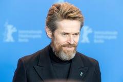 Skådespelare Willem Dafoe på Berlinale 2018 Royaltyfri Fotografi