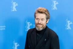 Skådespelare Willem Dafoe på Berlinale 2018 Fotografering för Bildbyråer