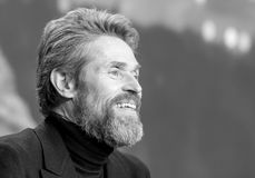Skådespelare Willem Dafoe på Berlinale 2018 Royaltyfria Bilder