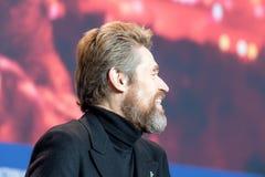 Skådespelare Willem Dafoe på Berlinale 2018 Royaltyfria Foton