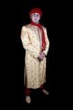 skådespelareafghan som man Arkivfoto