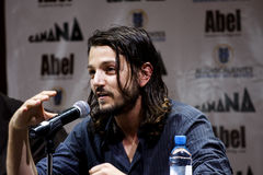 skådespelarediego luna mexikan Arkivfoton