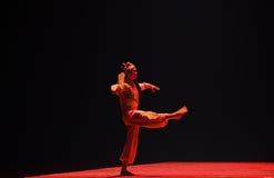 """Skådespelaren för en manlig roll i kinesiska operor - dansa drama""""MeiLanfang† Arkivbild"""