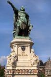 skåpbil för arteveldegentjacob staty Royaltyfri Bild