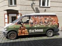 Skåpbil för konung Solomons royaltyfri foto