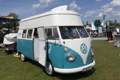 Skåpbil för Volkswagen t1-glass Arkivbilder