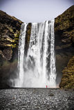 Skógafoss Waterfall - Iceland Stock Images