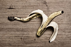 skóra bananów Zdjęcie Stock