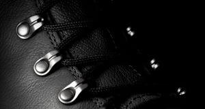 Skóra buty Zdjęcia Stock