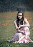 Skóra claret kolor jako tło Fotografia Stock