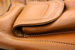 skóra torby skóra Zdjęcia Royalty Free