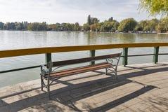 Skórniczy teren na jeziornym Balaton, Keszthely, Węgry Obraz Royalty Free