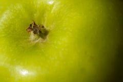 Skóry zielony Jabłczany tło Zdjęcia Royalty Free