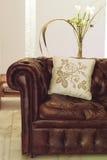 skórzana sofa Zdjęcia Stock