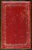 skórzany graniczny starego schematu Zdjęcia Stock