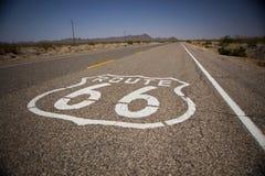 sköld för 66 route Arkivbilder