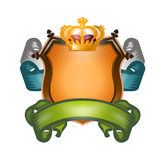 Sköld. Vektorformat Royaltyfri Fotografi