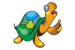 Sköldpaddan gillar Royaltyfri Bild