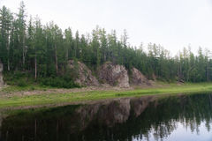 Skönhet av östliga Sibirien Royaltyfria Foton