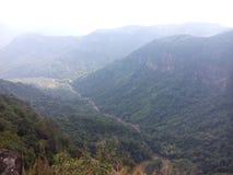 Skönhet av berg för naturshillong maghalaya Fotografering för Bildbyråer