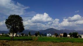 Skönhet av byn Royaltyfria Bilder