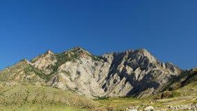 _ Skönhet av de vita bergen Fotografering för Bildbyråer