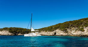 Skönhet av den Korsika naturen fotografering för bildbyråer