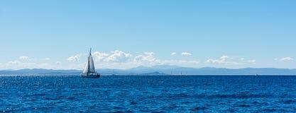 Skönhet av den Korsika naturen Arkivbilder