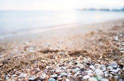 Skönhet av det Azov havet royaltyfri foto