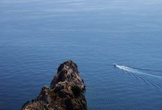 Skönhet av havet i Alanya royaltyfri foto