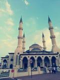 Skönhet av moskén arkivbilder