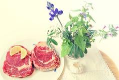 Skönhet av naturlig mat Arkivbild