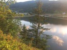 Skönhet av Norge arkivfoton