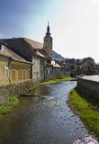 Skönhet av Samobor Arkivfoton