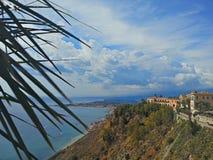 Skönhet av Taormina Royaltyfria Bilder