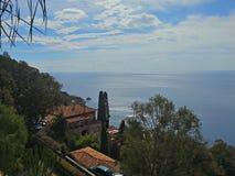 Skönhet av Taormina Arkivfoton