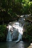 Skönhet av 33 vattenfall i Sochi royaltyfria foton