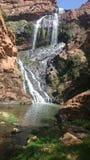 Skönhet av vattenfallet Arkivfoto