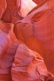 Skönhet för antilopkanjonabstrakt begrepp Arkivbilder